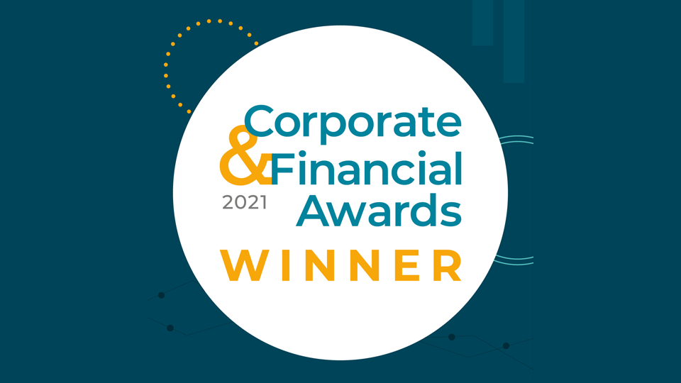 Success at the Corporate & Financial Awards for Big Button